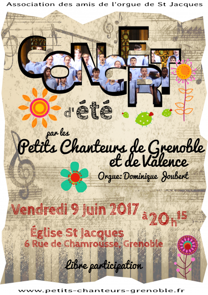 Concert St Jacques 2017